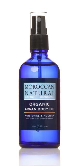 argan body oil 100ml