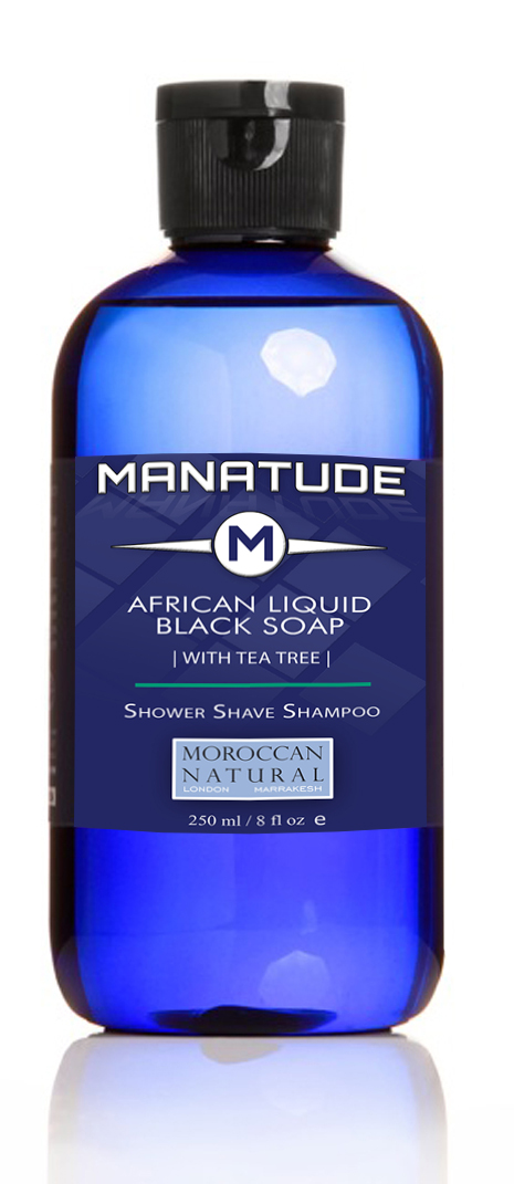 Manatude African-Liquid-Black Soap-Tea-Tree-250ml