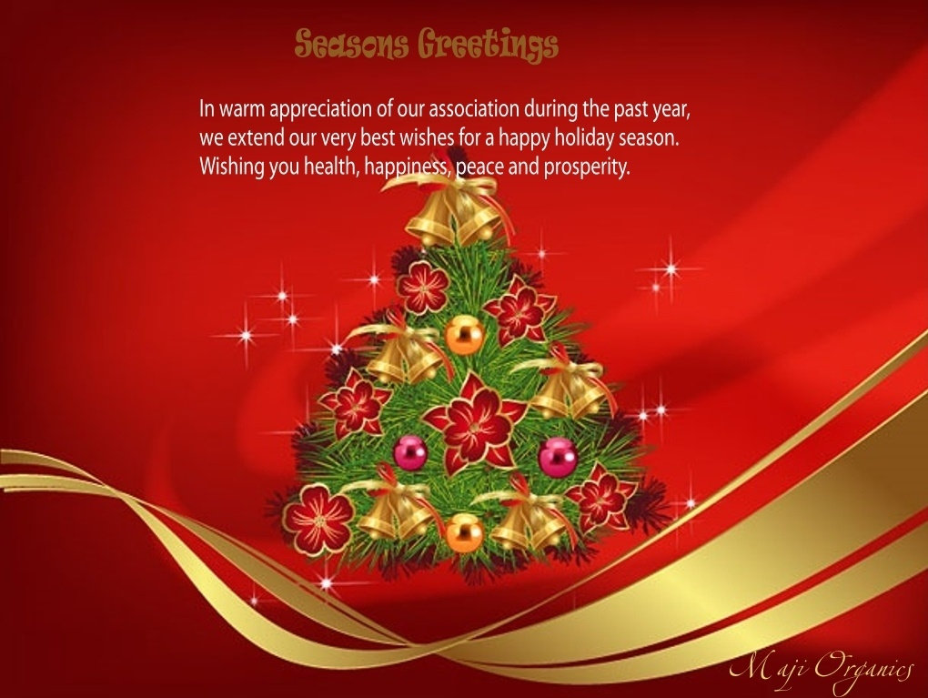 MajiOrganicsSeasonsGreetings